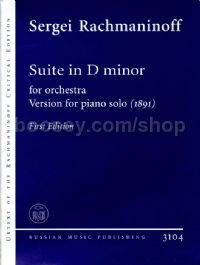 Suite in D Minor (1891) 1st Edition