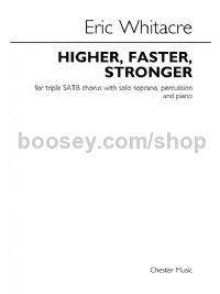 Higher, Faster, Stronger (Set of 3 Chorus Scores)