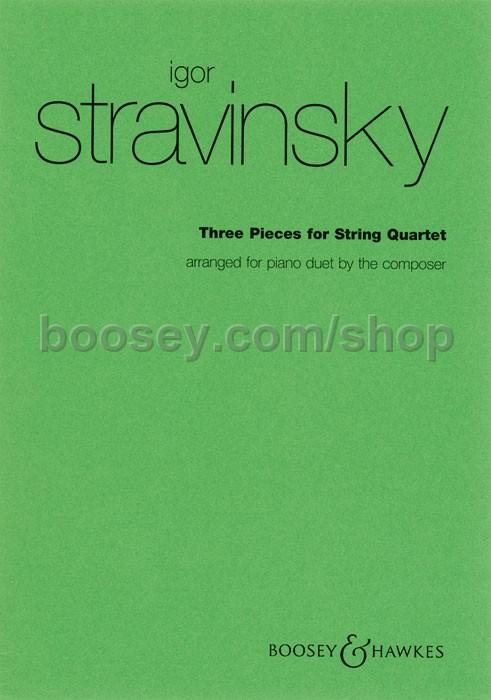 stravinsky three pieces