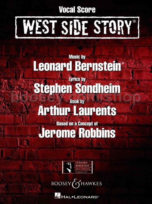 west side story conductors score