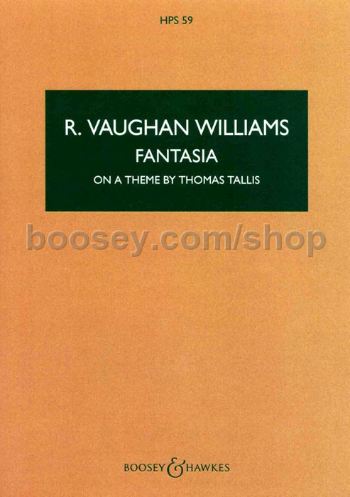 Ralph Vaughan Williams Fantasia On A Theme By Thomas Tallis