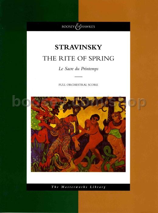 igor stravinskys rite of spring is scored for
