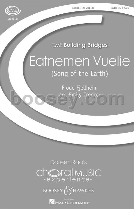 Frode Fjellheim - Eatnemen Vuelie (Song of the Earth) - SATB
