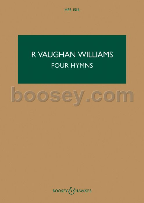 Musical Instruments & Gear Vaughan Williams Four Hymns Orchestral Viola Part