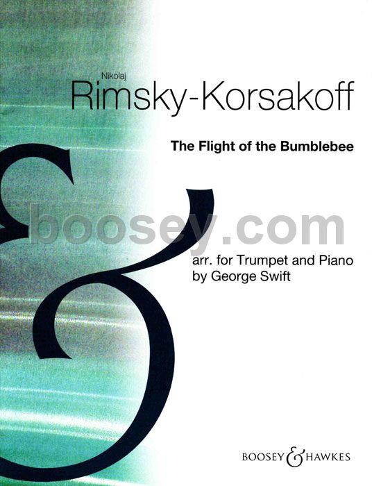 The Flight of the Bumble Bee Rimsky-Korsakov trumpet and piano 9790060022524