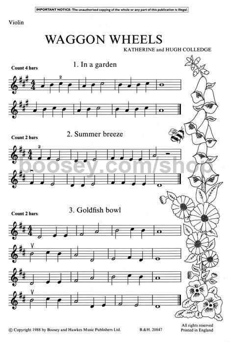 Violin Sheet Music Wagon Wheel - wagon wheel violin sheet music funkywhistle1000 images about ...