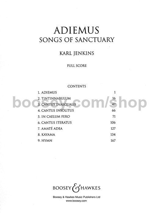 Karl jenkins adiemus songs of sanctuary karl jenkins adiemus songs of sanctuary fandeluxe Images
