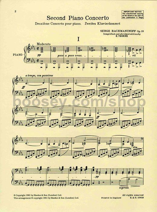 Piano Concerto No. 2 (Second Theme)