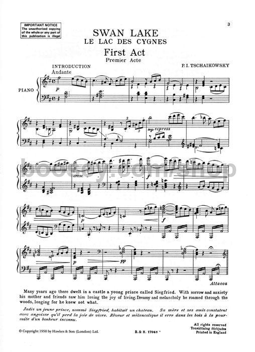 Peter Tchaikovsky - Swan Lake (selections)