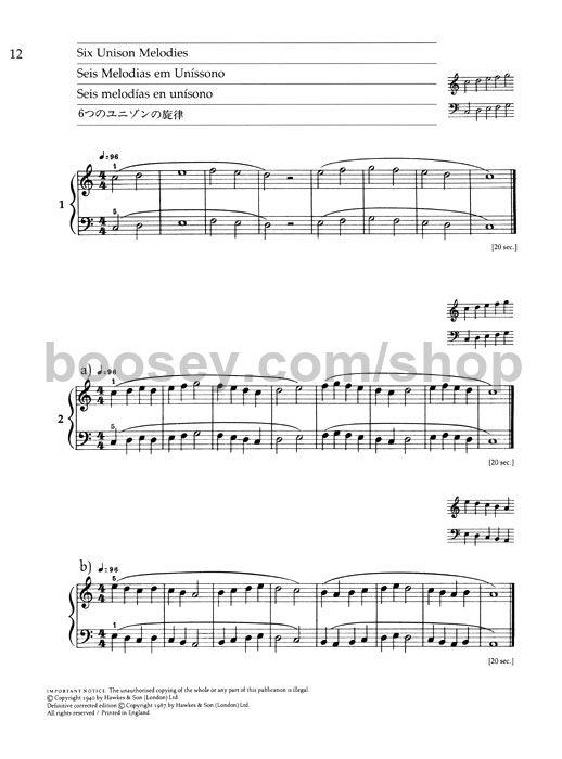 Béla Bartók - Mikrokosmos - Volume 1 (Audio + Piano …