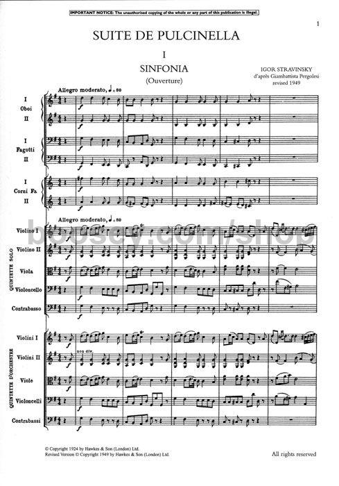 Igor stravinskys influence on modern music
