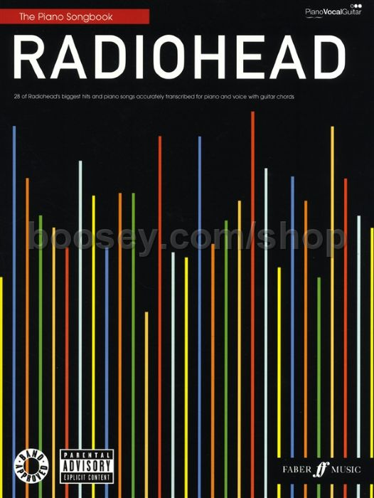 Radiohead Radiohead Piano Songbook