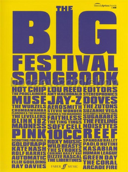 Various - Big Festival Songbook for Guitar (Chord Songbook)