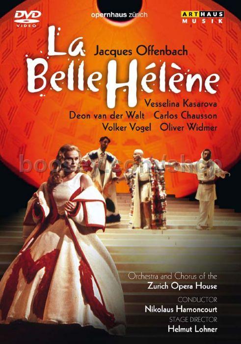 Jacques offenbach la belle helene arthaus dvd for Hs offenbach