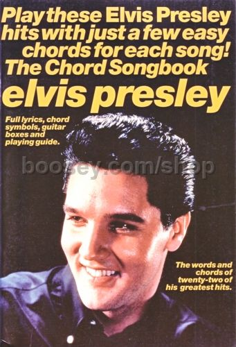 Presley Elvis Chord Songbook Lyricschords