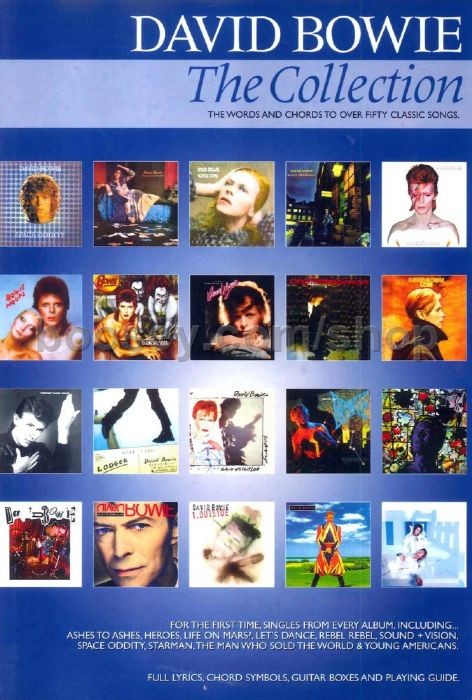 Bowie David David Bowie Collection Chord Songbook