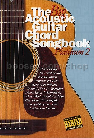 Various - Big Acoustic Guitar Chord Songbook: Platinum 2