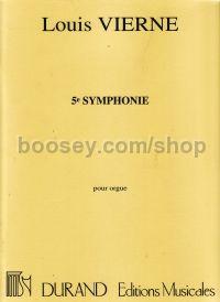 Vierne louis symphony no 5 op 47 organ for Ad wammes miroir