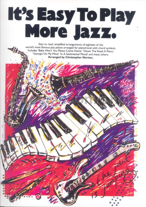 Its Easy To Play Jazz 2 Easy Piano With Guitar Chords