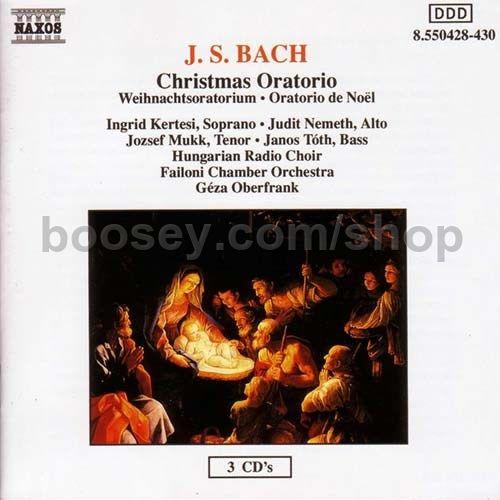 Johann sebastian bach christmas oratorio naxos audio cd - Weihnachts status ...