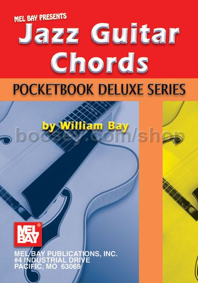 Bay William Pocketbook Deluxe Jazz Guitar Chords