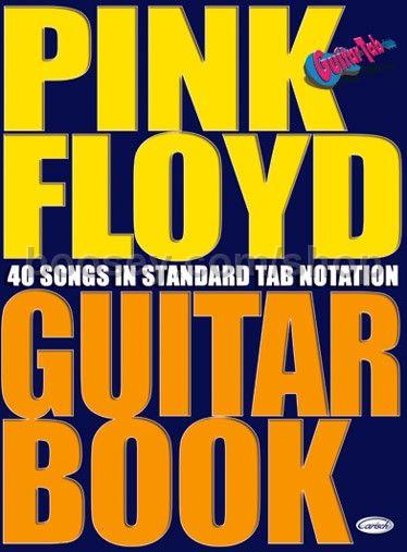 Guitar guitar tabs book : Pink Floyd - Pink Floyd Guitar Book tab