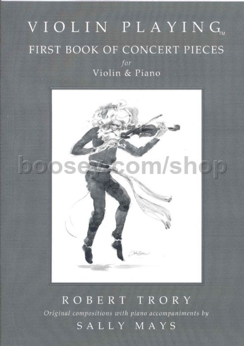Trory, Robert - Violin Playing First Book Of Concert Pieces