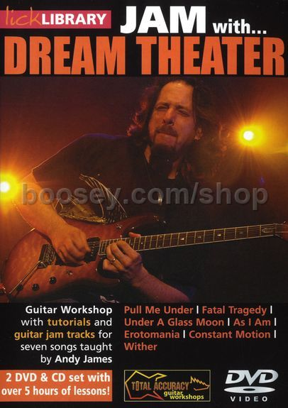 James, Andy - Jam With Dream Theater Lick Library DVD