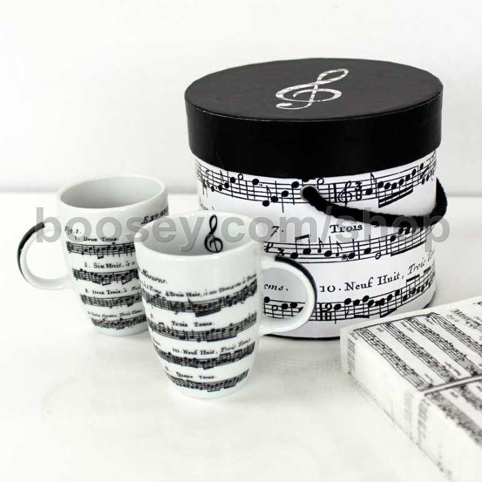 Adagio White Espresso Cups x2 - Gift Box Set