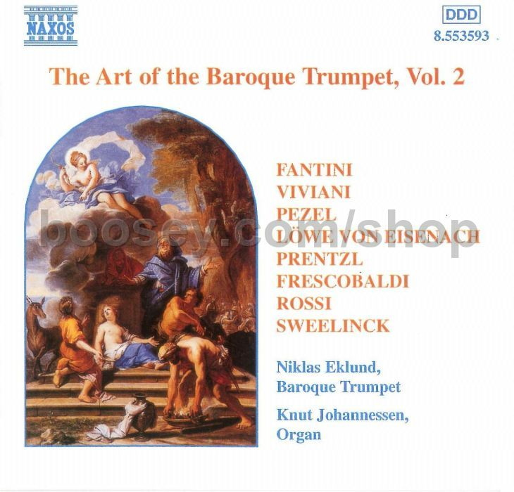 Niklas Eklund - Knut Johannessen - The Art Of The Baroque Trumpet Vol. 2