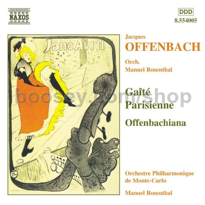 Jacques offenbach gaite parisienne offenbachiana naxos for Hs offenbach