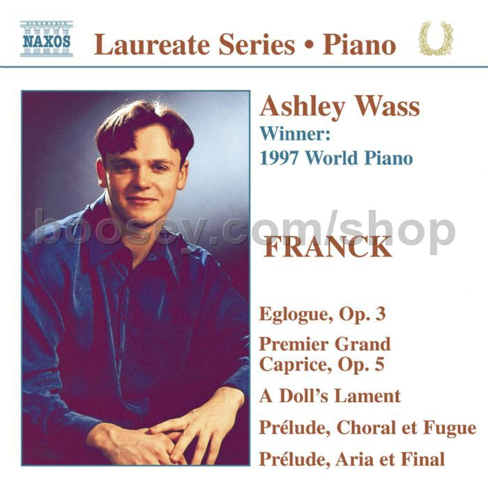 Piano Recital Gifts Cesar Franck Piano Recital