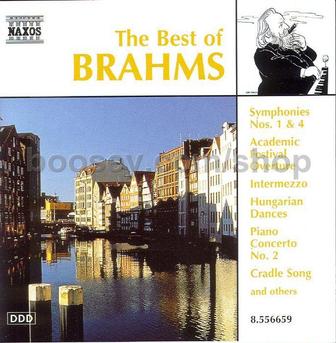 Best of Brahms (Naxos Audio CD)Best of Brahms (Naxos Audio CD)