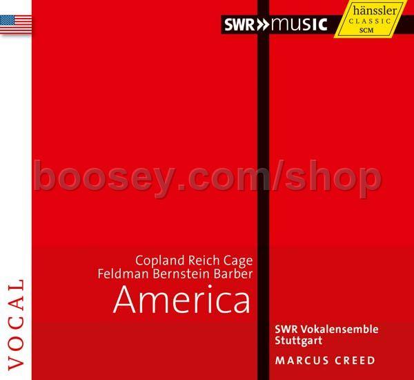 Bernstein Leonard Copland Aaron Cage John American