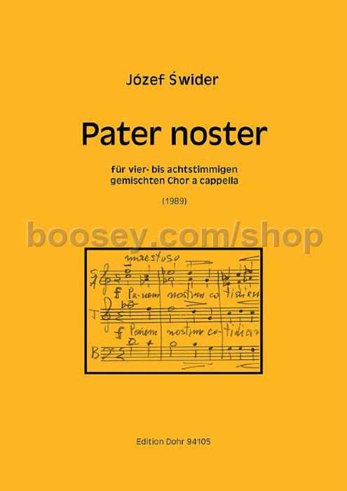 SWIDER PATER NOSTER EPUB DOWNLOAD