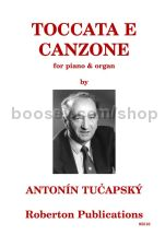 Tucapsky antonin toccata e canzone for organ piano for Ad wammes miroir