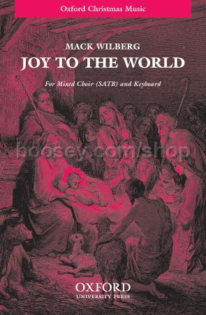 joy to the world vocal score enlarge cover