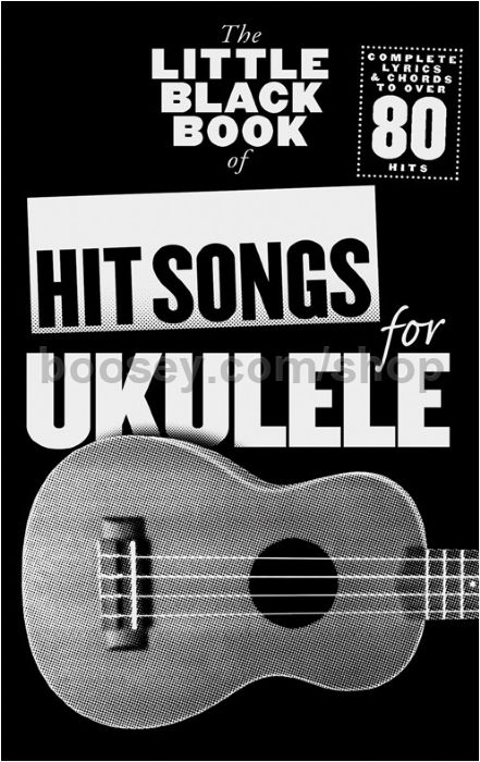 Various The Little Black Book Of Hit Songs For Ukulele