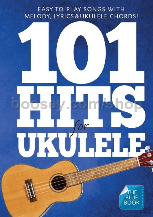 Various 101 Hits For Ukulele Blue Book