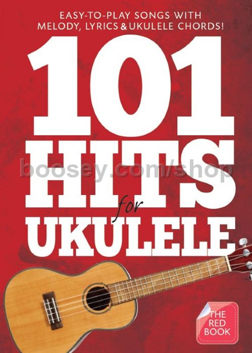 Various 101 Hits For Ukulele Red Book