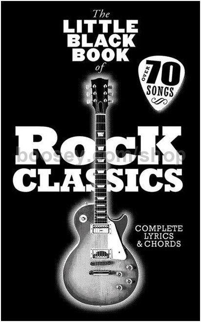 Various - The Little Black Book of Rock Classics - Complete Lyrics ...