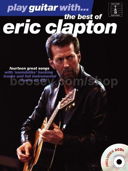 clapton eric play guitar with the best of eric clapton book cd. Black Bedroom Furniture Sets. Home Design Ideas