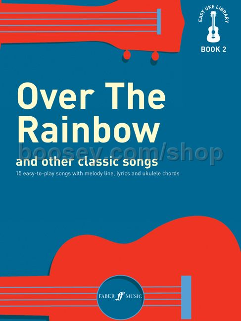 Various Easy Uke Library Volii Over The Rainbow And Other