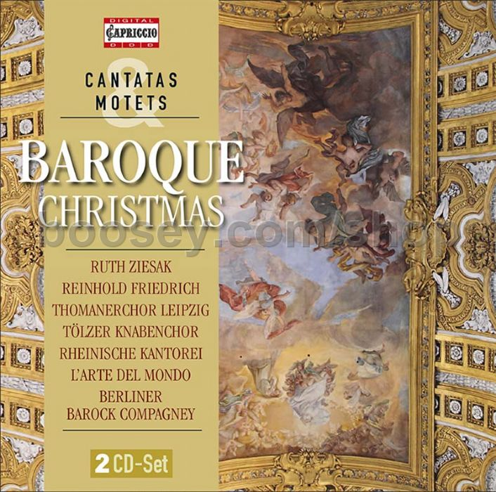 Various - Baroque Christmas (Capriccio Audio CD x2)