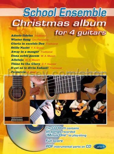 Fiorentino, Ciro - Christmas Album for 4 Guitars