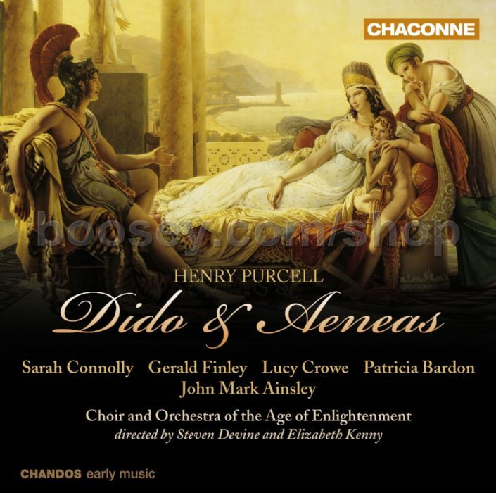 Henry Purcell - Dido & Aeneas (Chaconne Audio CD)