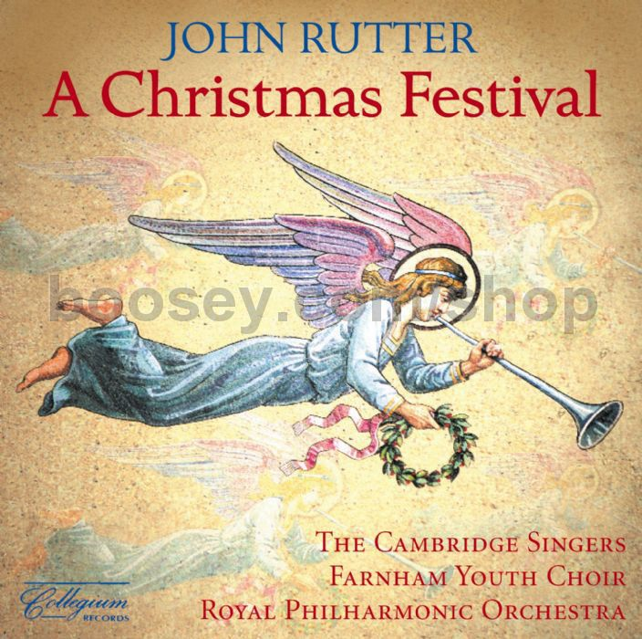 John Rutter - A Christmas Festival (Collegium Audio CD)