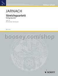 Jarnach, Philipp - String quartet op  16 (set of parts)