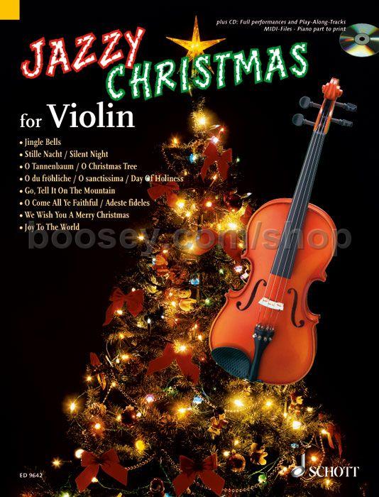 Jazzy Christmas For Violin (Book & CD)