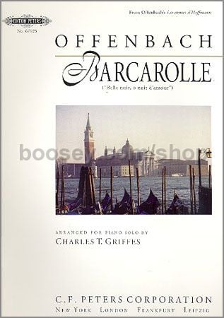 Jacques offenbach barcarolle for Hs offenbach